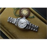 *Stunning* Rolex Oyster Perpetual Automatic Watch - White Roman Numeral/ Steel Edition