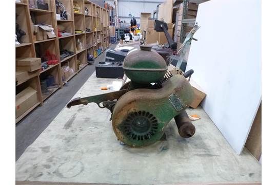 A Villiers 2 Stroke Stationary Engine in need of TLC