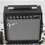 2 x Fender Champion 20 Guitar Amplifiers - Small Compact Practice Amps, Ideal For Beginners - RRP £2