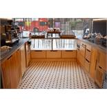 1 x Selection of Kitchen Base Units, Wall Units and Worktops - Appliances Not Included - CL489 -