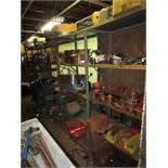 Contents of Tool Room, To Include Adjustable Shelving Units, Assorted Hand Tools, Pipe Wrenches,