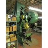 "Niagara A3-1/2 45 Ton Mechanical OBI Punch Press, 3"" Stroke, 2-5/8"" Slide Adjustments, 27""x18"""