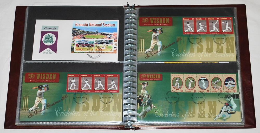 Lot 991 - First day covers 1970-2000. Maroon album comprising ninety seven first day and commemorative covers,