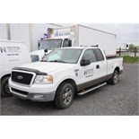 FORD (2005) F150 XLT EXTENDED CAB PICKUP TRUCK WITH 5.4 LITER V8 GAS ENGINE, RWD, AUTO,