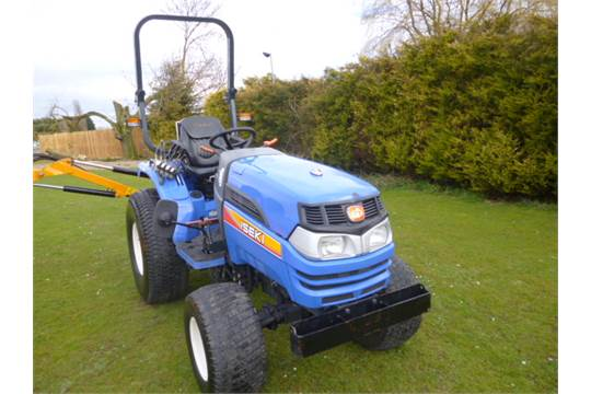 ISEKI TH 4335 COMPACT TRACTOR - REG YEAR 2014 HOURS 1034 3