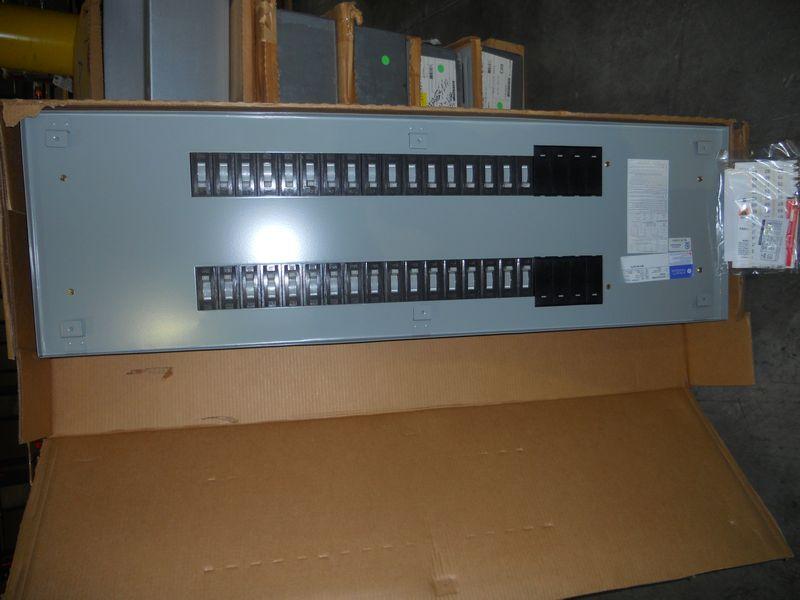 Lot (10) GE A Series-II panelboards, Type AB55B, M/N