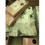Sanctuary Bailey Multi Double Duvet Set with Blush Fitted Sheet & 2 Blush Pillow Cases. New &