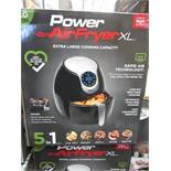   1X   POWER AIR FRYER 5.0L   UNCHECKED AND BOXED   NO ONLINE RE-SALE   SKU C5060191466936   RRP £