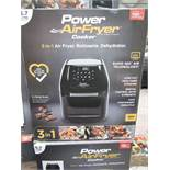   1x   POWER AIR FRYER 5.7L   UNCHECKED & BOXED   NO ONLINE RE-SALE   Sku C5060541513068   RRP £