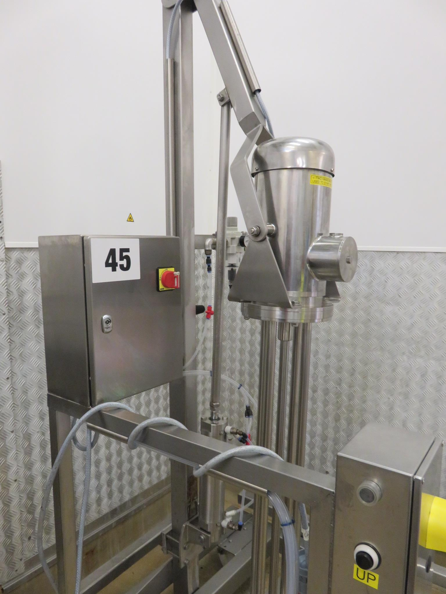 Lot 45 - Silverson Homogeniser. Model FX. Mobile on stand. Lift out £40