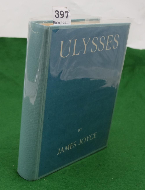 "Lot 397 - BOOK - James Joyce, Ulysses, Paris, Shakespeare & Co. 1926, fine early copy inscribed ""W E Burch,"
